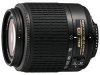 NIKON objektiv AF-S VR DX 55-200/4,5-5,6G črn