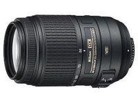 NIKON objektiv AF-S VR DX 55-300/4,5-5,6G
