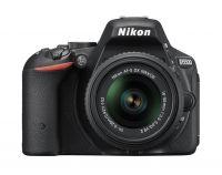 NIKON D-5500 kit z 18-55 VRII + Nikon torba + SDHC 16GB