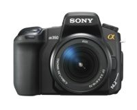 DSLR fotoaparat SONY DSL-RA350 z izmenljivim objektivom (z objektivom 18-70)