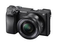 Digitalni fotoaparat  SONY ILCE6300LB Alfa 6300 serije E s senzorjem APS-C (z objektivom SEL 16-50 mm)