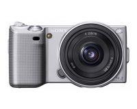 NEX fotoaparat kompakten z izmenljivim objektivom